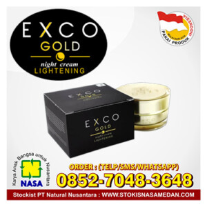 exco gold night cream lightening