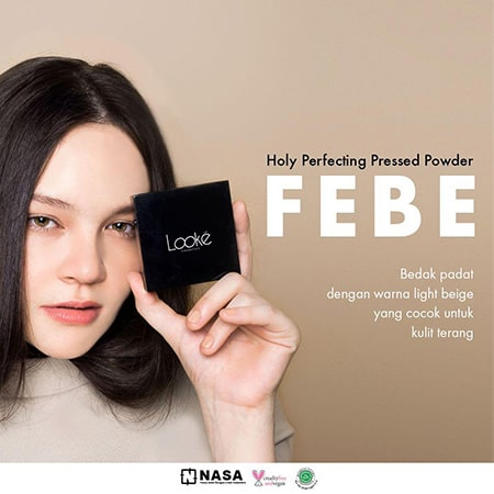 Looke Holy Perfecting Pressed Powder Febe